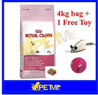 ROYAL CANIN FELINE Dry Kitten For Cats 4kg + 1 FREE toy