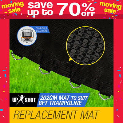 NEW Up-Shot 8ft Replacement Trampoline Mat - 48 Spring Round Spare Foot Parts