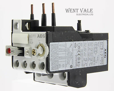 AEG B27T-910-341-847-00 -  6a Thermal Overload Relay 1.0 - 1.5a New In Box