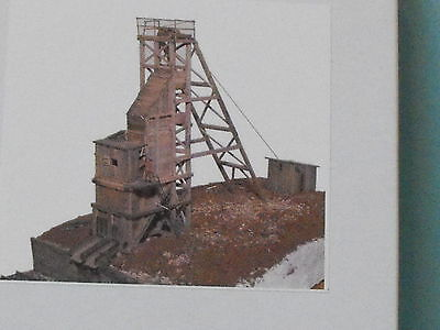 burnt river mine N SCALE BY JV MODELS #1019
