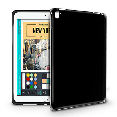 Cotechs® Silicone Gel BendyFlex Black Case for Apple iPad Pro 9.7""