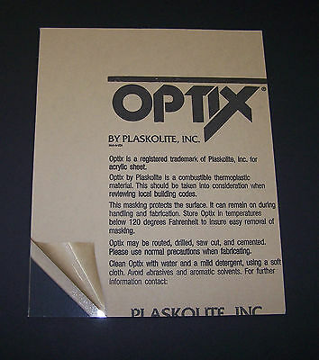8x10 Acrylic 18 Plexiglass For Picture Frame Glass Replacement