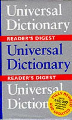Universal Dictionary by Reader's Digest Hardback Book The Cheap Fast Free Post