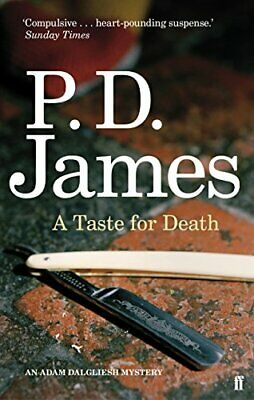 A Taste for Death (Inspector Adam Dalgliesh Mystery) by James, P. D. Paperback