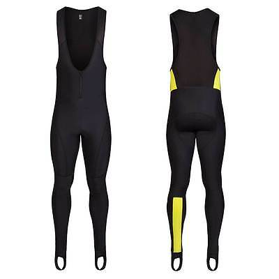 Rapha Cycling Black/Sulphur Winter Tights. Size Small. BNWT.