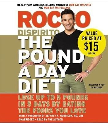 The Pound a Day Diet by Rocco DiSpirito Compact Disc Book (English)
