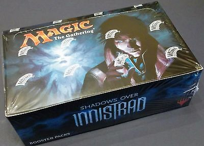 Magic Mtg Shadows Over Innistrad Booster 1/6 Box Lot = 6 Packs English Free Ship
