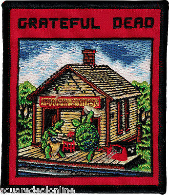 89030 Grateful Dead Terrapin Turtles Dancing Railroad Station Band Iron On Patch