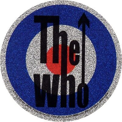 15704 The Who Target Mod Logo Sticker Decal Music Rock 60s Band Glitter Sparkles