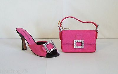 Just The Right Shoe by Raine Sparkle Shoe #25330 & Matching Purse #25331 (SH2)