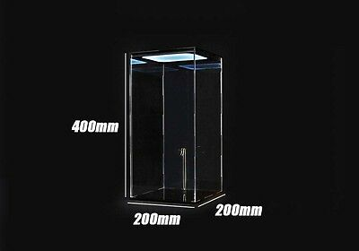 Toys Box 6TH Scale Figure Display acrylic Case with Led Light 1/6 LOT