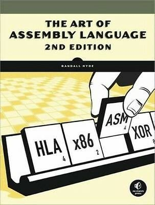 The Art of Assembly Language by Randall Hyde Paperback Book (English)