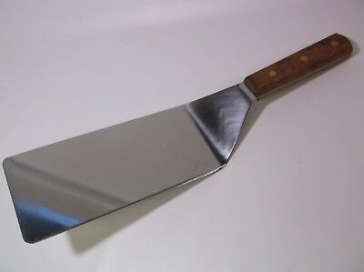 Dexter Russell S8699 Wood Handle 8 x 4 - giant spatula Steak Turner pancake dads