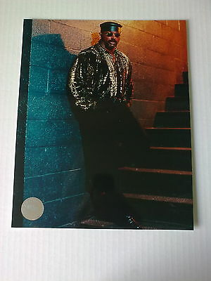 WWF WWE perry saturn official unsigned racing reflections PROMO photo + hologram