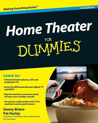 Home Theater for Dummies by Danny Briere Paperback Book (English)