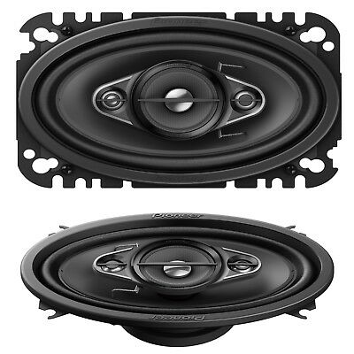 "Pioneer TS-A4633i 6""x4"" 3-Way Custom Fit Car Audio Speakers 200W VW Golf MK1,2,3"