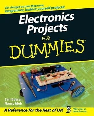 Electronics Projects for Dummies by Earl Boysen Paperback Book (English)