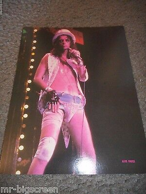 "Alice Cooper - Original 1973 Rising Signs Large Poster Card - 8.5"" X 11"""