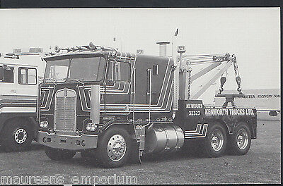 Motor Transport Postcard - Kenwoth Trucks, Newbury, Kenworth Wrecker  A9673