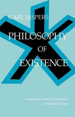 Philosophy of Existence by Karl Jaspers Paperback Book (English)