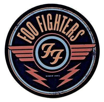 "FOO FIGHTERS wings logo STICKER Decal vinyl 4"" Dave Grohl S-8017 *Free Shipping*"