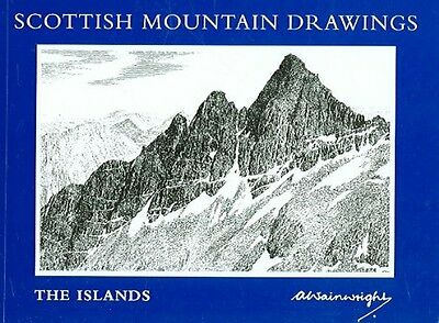 Scottish Mountain Drawings: The Islands by A. Wainwright Paperback Book (English