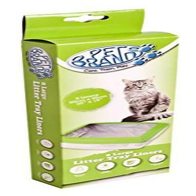 Pack Of 8 Pet Brands Cat Litter Liners Pet Supplies Scented Durable Drawstring