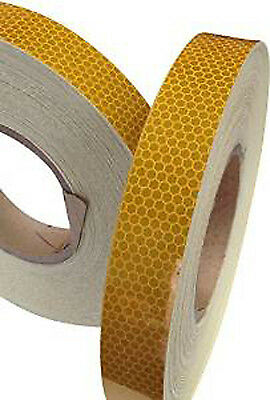 Gold High Intensity Reflective Tape (25mm,50mm & 100mm * 1m,2m,2.5m,3m,4m & 5m)