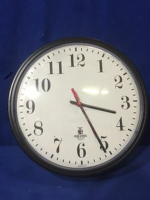"13"" Chicago Lighthouse Quartz Commercial Wall Clock School Business Made in USA"