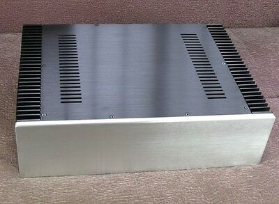 with side heatsink Power amplifier Aluminum chassis Enclosure case 430x120x310mm