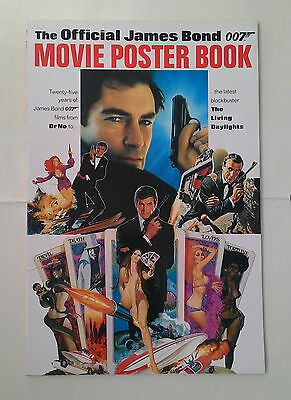 JAMES BOND Movie Posters and JAMES BOND Girls books – good condition 007