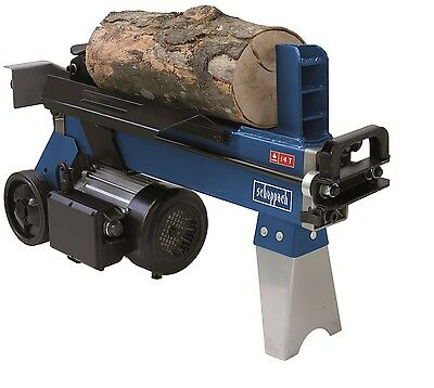 4 Ton Hydraulic Electric Log Splitter Wood Timber Cutter 2200W Scheppach Hl450