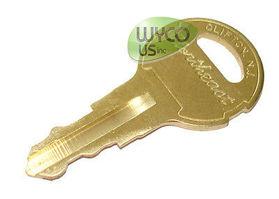607821, Replacement Key, Tennant 5280, 5500, 5300, 5400 Walk Behind Scrubbers,3E