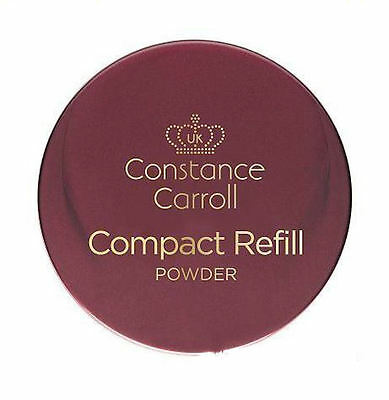 Constance Carroll Compact Powder Refill 12g, With puff applicator