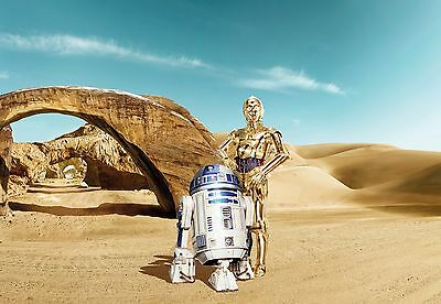 Giant paper wallpaper 368x254cm Star Wars Lost Droids wall mural 2015 Series