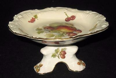 "Hammersley Bone China, NEW FRUIT, Pedestal Nut or Candy Dish, 6 3/8"" W 3 1/4""H"