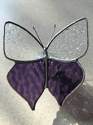 Handmade Stained glass butterfly....suncatchers...Mother's Day gift #1