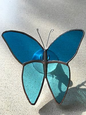 Handmade Stained glass butterfly....suncatchers...Mother's Day gift  #9