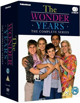 THE WONDER YEARS 1-6 1988-1993: ORIGINAL MUSIC Complete TV Series Rg2 DVD not US