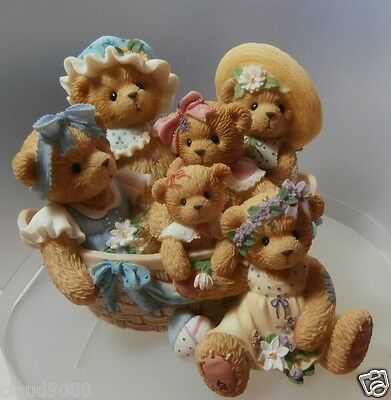 """Cherished Teddie """"love Passes From Generation  To Generation"""" 789585 Mint In Box"""