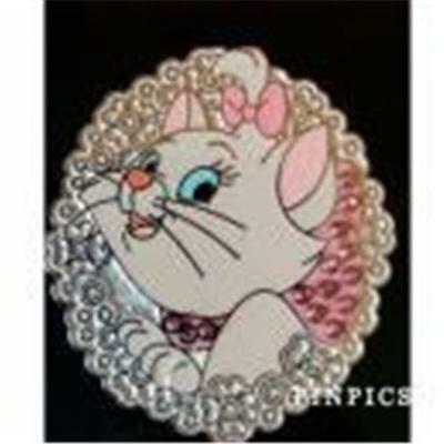 2016 Marie Aristocats Flowers & Jewels Disney Pin 114210