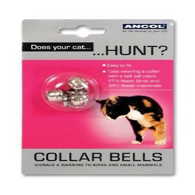 Ancol Cat Collar Bells Assorted Pet Supplies Spare Collar Bells Chrome Finished