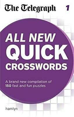 The Telegraph: All New Quick Crosswords 1 (The Telegraph Puz... by THE TELEGRAPH