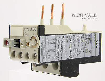 AEG B27S-910-341-994-00 - 25a Thermal Overload Relay 7 - 10a New In Box