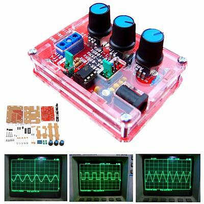 1set XR2206 Function Signal Generator DIY Kit Sine Triangle Square Wave 1HZ-1MHZ
