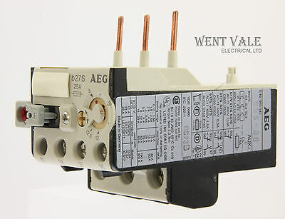 AEG B27S-910-341-995-00 - 25a Thermal Overload Relay 8 - 12.5a New In Box