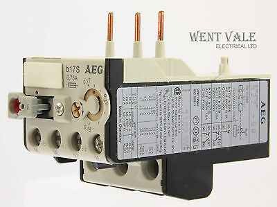 AEG B17S-910-341-922-00 - 0.75a Thermal Overload Relay 0.12 - 0.18a New In Box