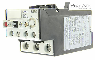 AEG B77S-910-341-982-00 - 50a Thermal Overload Relay 16 - 25a New In Box