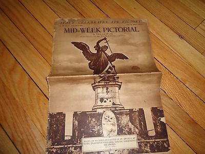 New York Times Mid-Week Pictorial January 9 1919 WWI Content