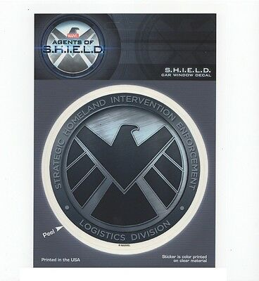 Shield Logo Marvel Comics Officially Licensed Car Window Decal Sticker